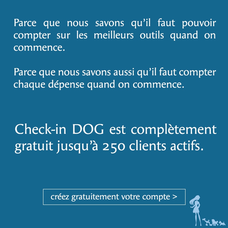 Check-in DOG gratuit